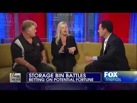 Fox & Friends Storage Wars Dan & Laura Dotson