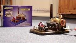 Dampfmaschine der Firma Merkur Made in Tschechien