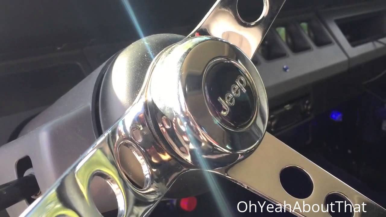 hight resolution of project 1991 jeep wrangler jeep yj part 63 horn button installed