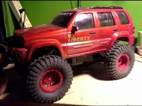 Rc Jeep Liberty Update Metal Chassis For Maisto Rock