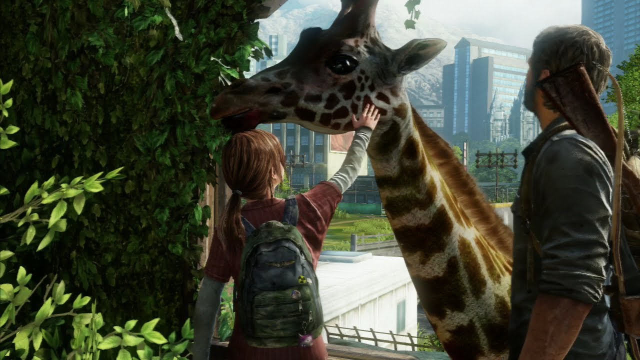 Image result for the last of us giraffe