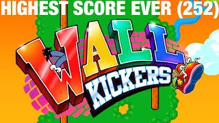 Wall Kickers Game Highest Score In the World (252)