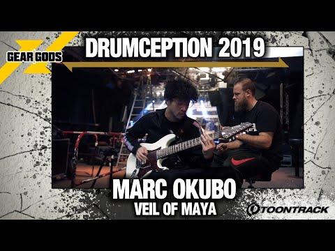 MARC OKUBO Of VEIL OF MAYA New Original Song For DRUMCEPTION 2019   GEAR GODS