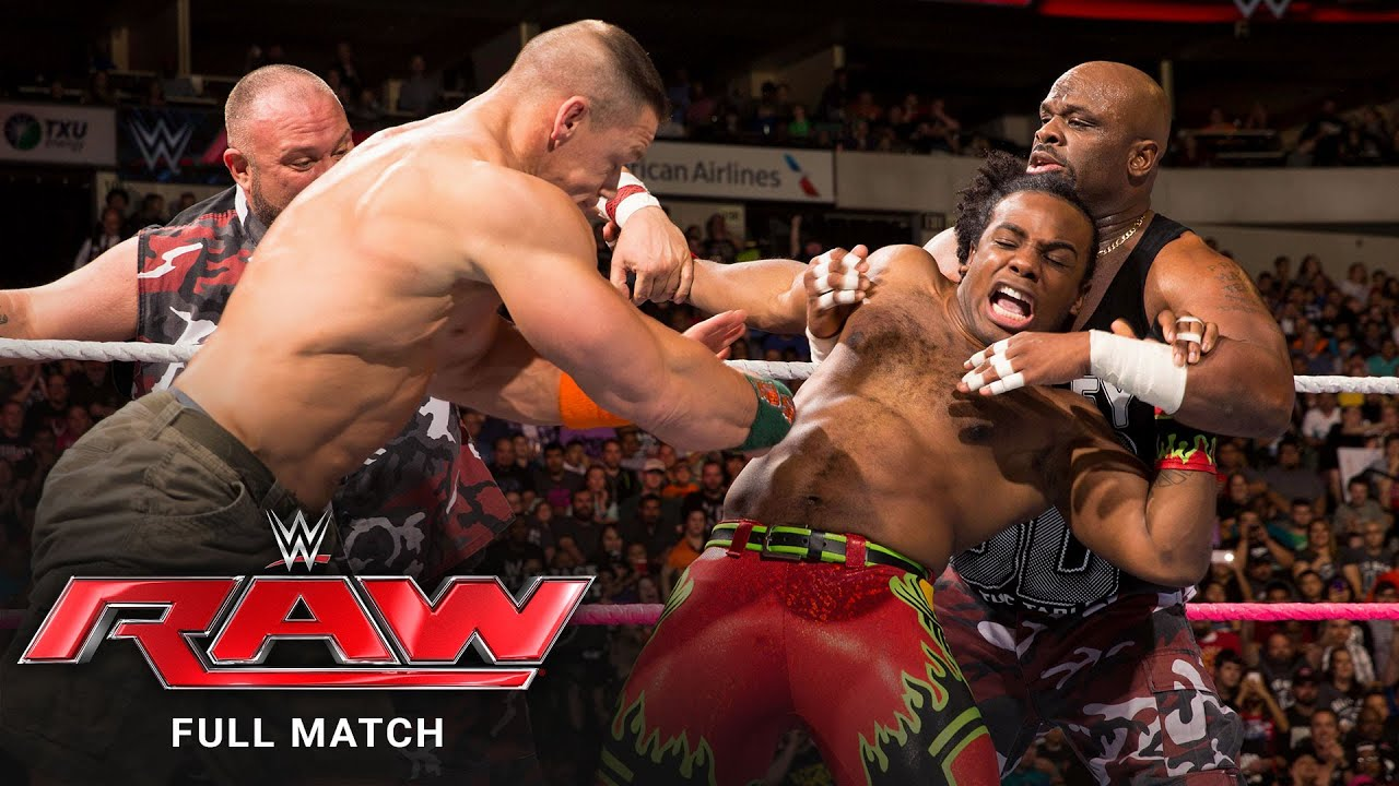 FULL MATCH - John Cena & The Dudley Boyz vs. The New Day: Raw, October 19, 2015