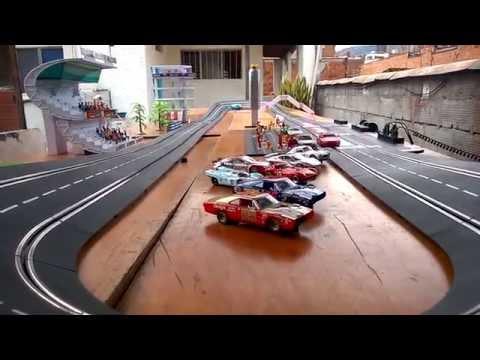 CARRERA SLOT CAR OVAL – SPIRIT PEUGEOT 406 SLOT CAR COLOMBIA