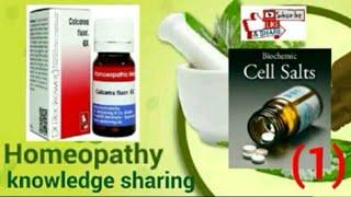 Homeopathy Biochemics Salts! Calcarea Fluorica