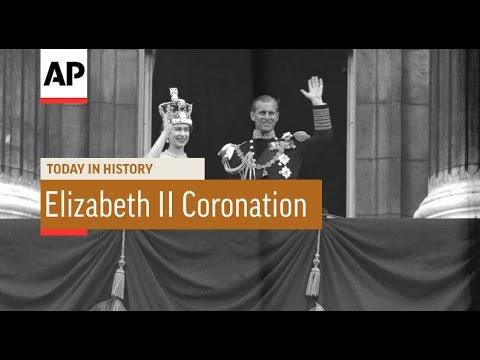 Queen Elizabeth II Coronation - 1953    Today In History   2 June 16
