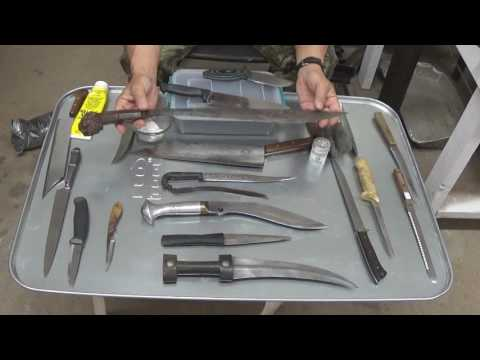 Cleaning and Preserving Modern and Historic Knife Blades