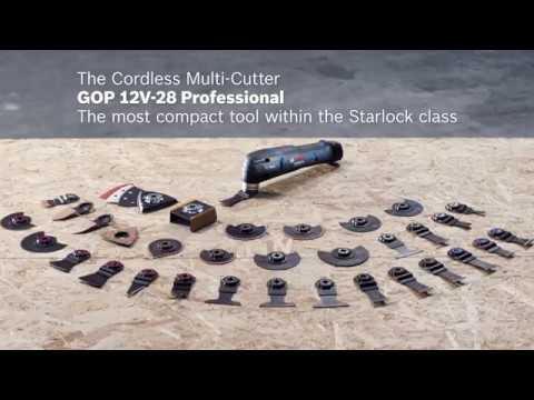 Видео обзор: Резак универсальный BOSCH GOP 12V-28 Solo без АКБ и ЗУ