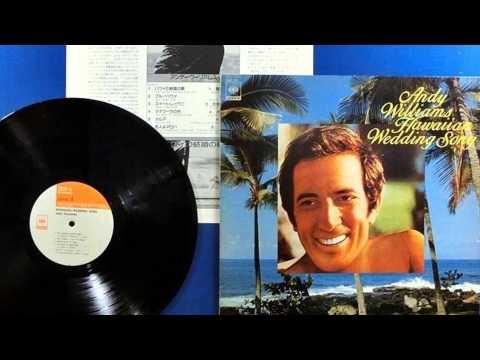 andy williams original album collection Vol.1  to you sweetheart.aloha  1956