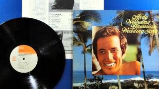 andy williams original album collection Vol.1  to you sweetheart.aloha  1956