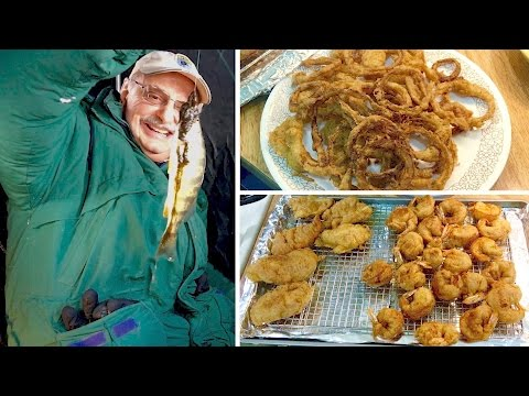 Angling for Tempura Battered Fish