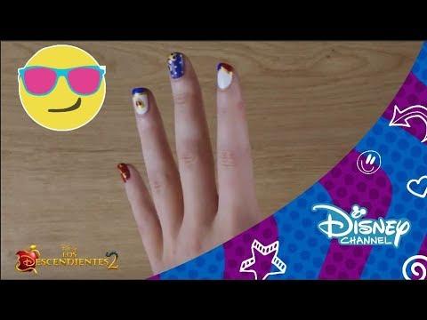 Los Descendientes 2 | Nail Art - Evie | Disney Channel Oficial