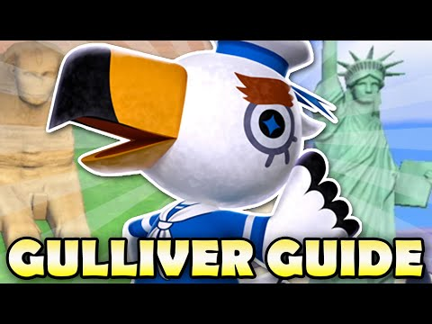 🦆 BEST Gulliver Guide for Animal Crossing New Horizons! All Gulliver Items & How To Get Them!
