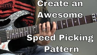 Guitar Solo Tips - Create an Awesome Ascending Speed Picking Pattern - Steve Stine Guitar Lesson