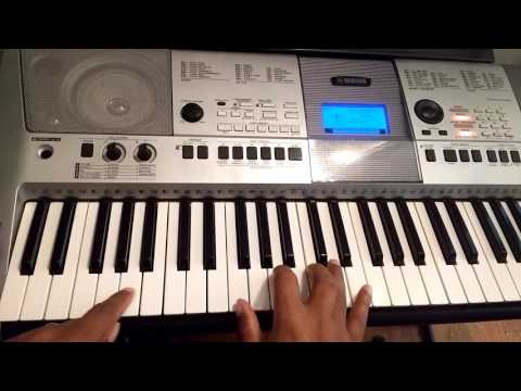 How to play Withholding Nothing by William McDowell on piano