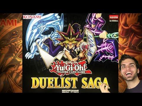 BEST YuGiOh 2017 Duelist Saga Box Opening! *NEW* Ultra Rare Technology! OH BABY!!