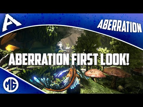 ABERRATION FIRST LOOK, FINDING RESOURCE/BASE LOCATIONS & DINO SPAWNS! Ark: Survival Evolved