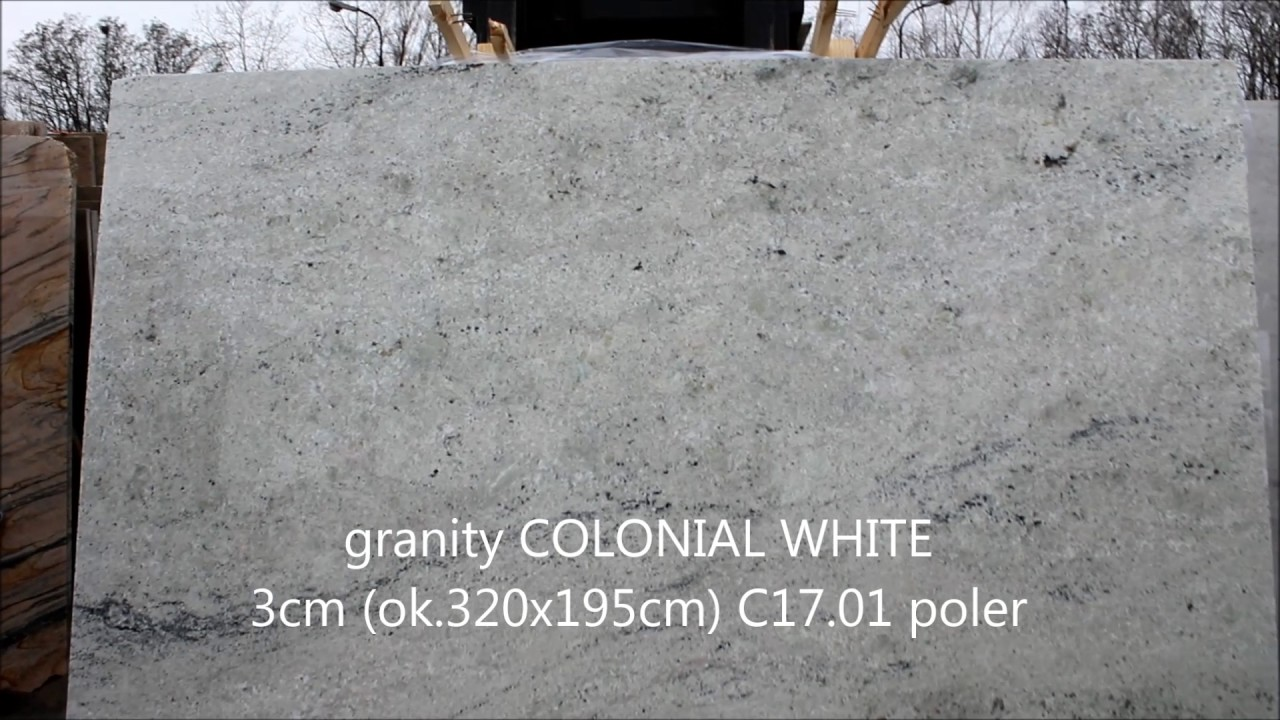 granit colonial white 3cm poler youtube. Black Bedroom Furniture Sets. Home Design Ideas