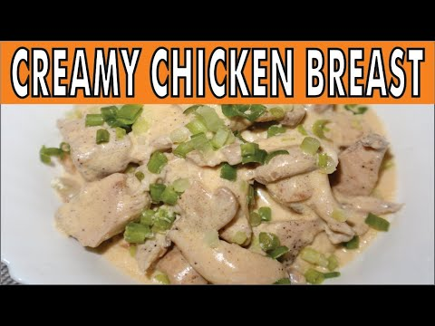 Creamy Chicken Breast Recipe By CookinGee