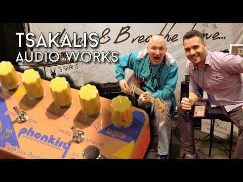 Tsakalis Audio Works shows some awesome pedals!