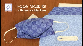 Face Mask Kit with Removable Filters