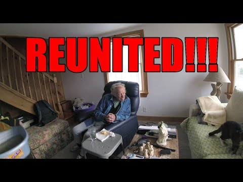 OLD MAN SEES HIS CAT FOR FIRST TIME IN 6 MONTHS!