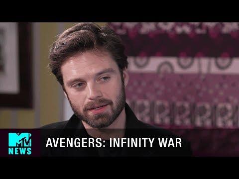 Sebastian Stan Talks 'Avengers: Infinity War' & Graffiting Chris Evans' Face | MTV News