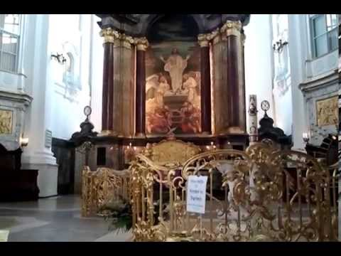 Gorgeous St. Michaels Church Inside Hamburg Germany 2014 (MUST SEE) 2