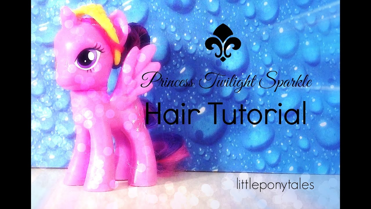 mlp hair styling tutorial my pony twilight sparkle hair tutorial 5121