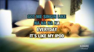 """Replay in the style of """"Iyaz"""" karaoke video version with lyrics (no lead vocal)"""