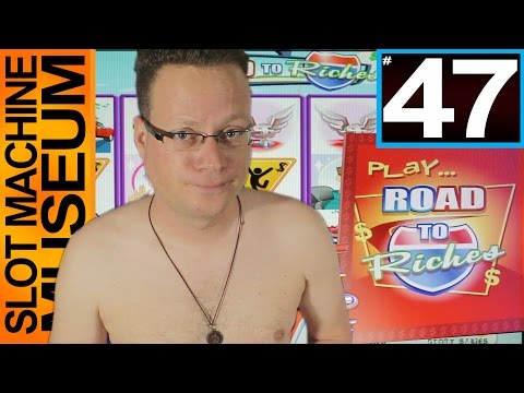ROAD TO RICHES (WMS) - SHIRTLESS REVIEW!  - [Slot Museum] ~ Slot Machine Review