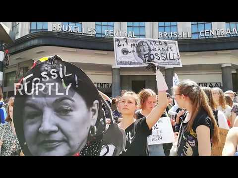 Belgium: Climate strike protest hits Brussels