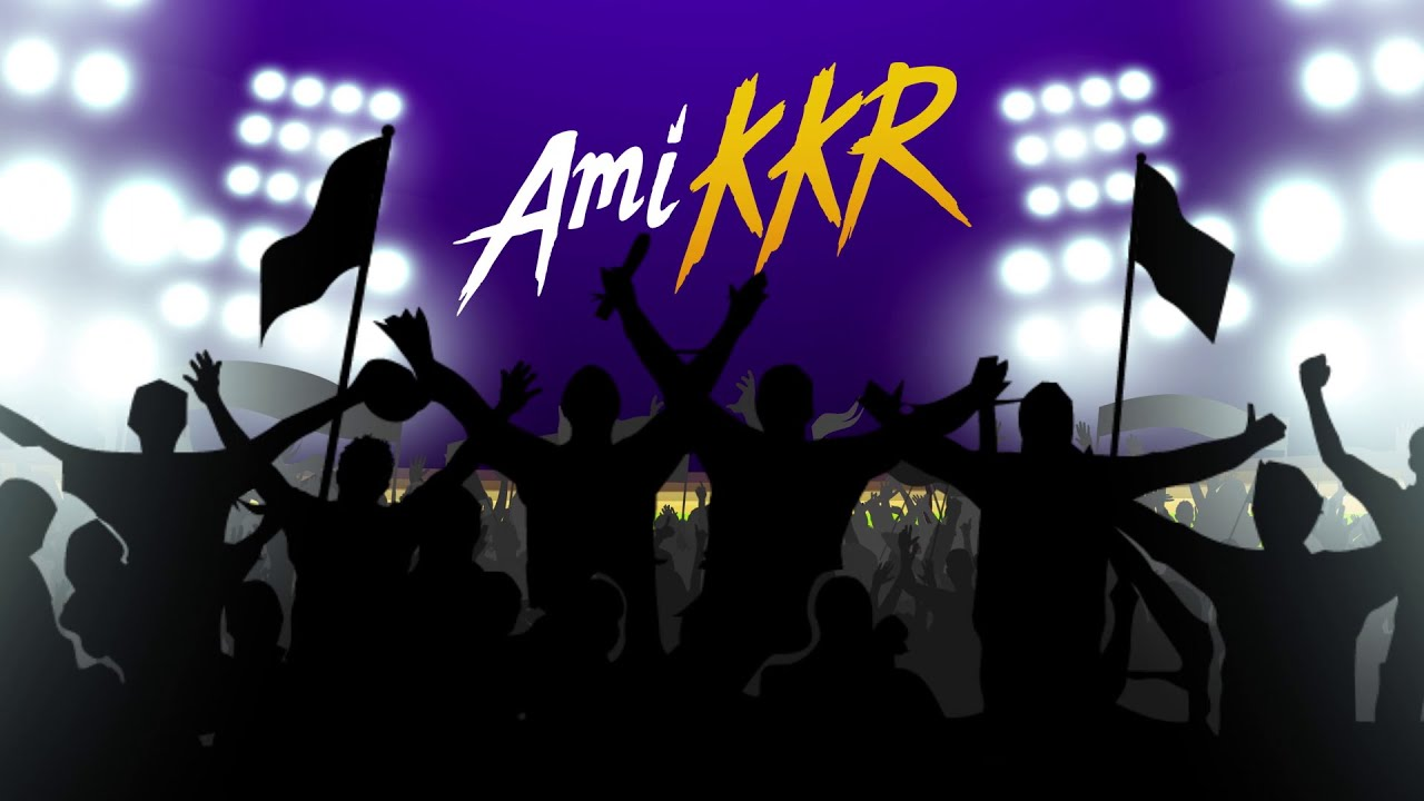Ami KKR now and forever   Kolkata Knight Riders   I Am KKR   VIVO IPL - Indian Premier League ...