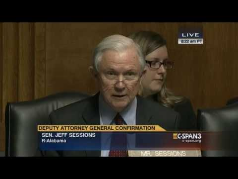 Sally Yates Confirmation Hearing