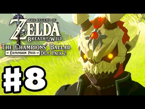 New EX 2 Armor and Treasure Locations! - The Legend of Zelda: Breath of the Wild DLC Pack 2 Gameplay
