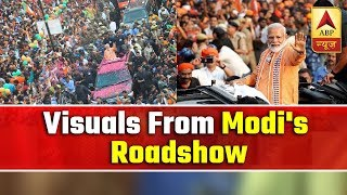 FULL COVERAGE: Visuals from Prime Minister Narendra Modi's roadshow in Varanasi