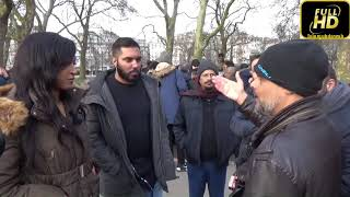 Speakers Corner Two Stranger various about Islam and Christianity  [Oct 2018]