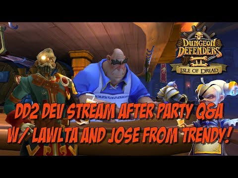 DD2 Dev Stream After Party Q&A W/ Lawlta and Jose!