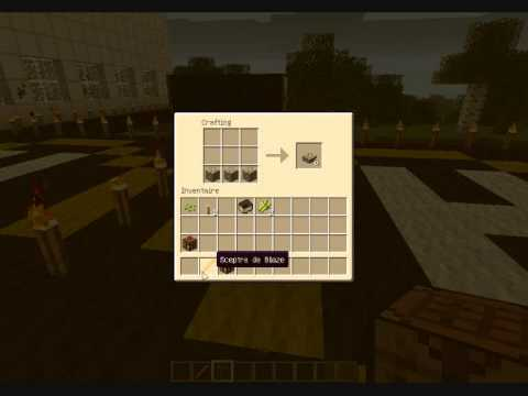Minecraft comment faire un table d 39 alchimie tuto 4 youtube - Table d alchimie minecraft ...