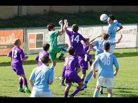 Round 8 WA NPL U14 Perth SC vs Perth Glory   29 May 2016