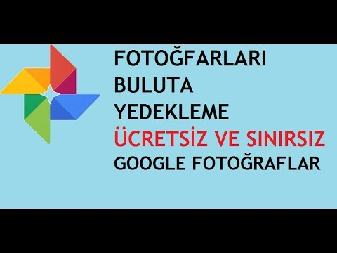 Google Fotoğraf Resim Saklama Programı (Bulut Depolama Ücretsiz)