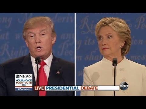 Third Presidential Debate Highlights | Trump, Clinton on Abortion