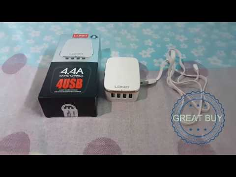 LAZADA UNBOX! LDNIO 4.4A Rapid Charger A4404- Lazada's Best Deal!