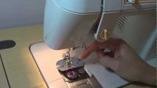 Costura: Como passar linha na máquina Singer