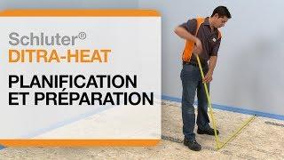 Comment planifier l'installation d'un plancher chauffant électrique :Schluter®-DITRA-HEAT