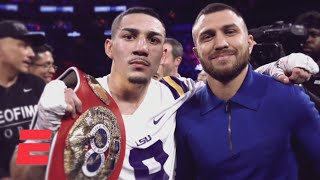 Vasiliy Lomachenko & Teofimo Lopez look back at their MSG meeting | Top Rank Boxing