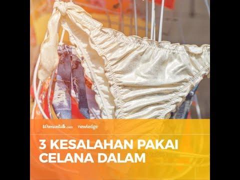 3 Kesalahan Pakai Celana Dalam