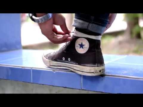 Tutorial Eps 1 Mengikat Tali Sepatu Converse Hi Youtube