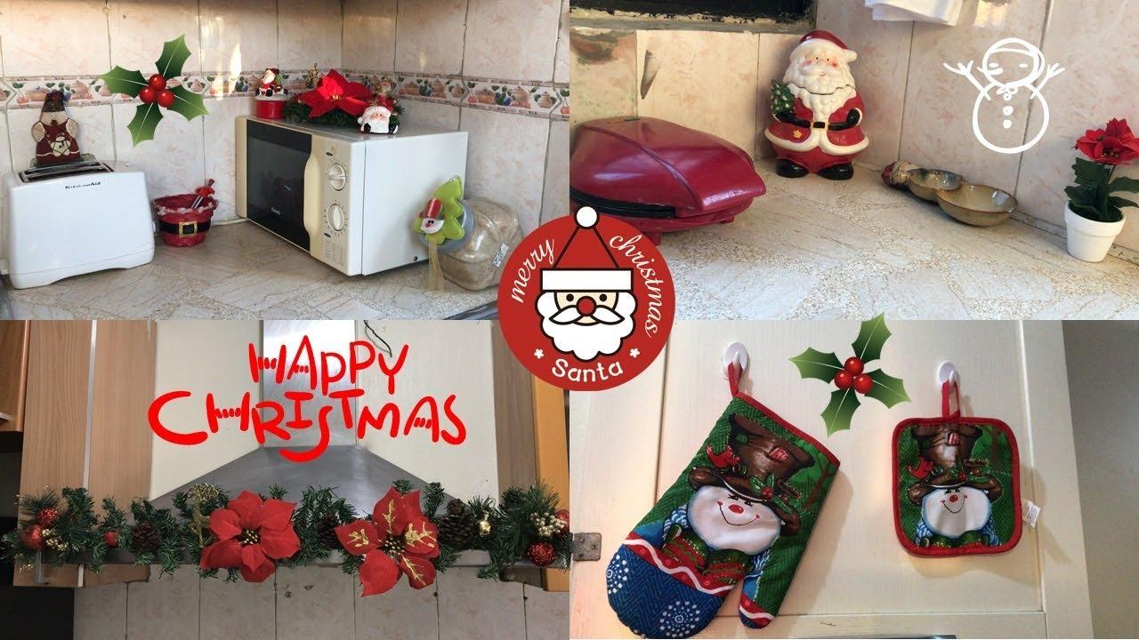 Ideas para decorar tu cocina en navidad tour por mi for Figuras de navidad para decorar